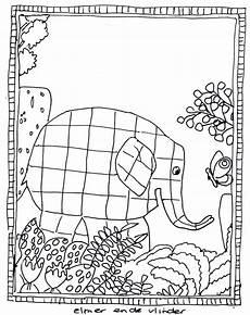 Ausmalbilder Elefant Elmar Elmar Ausmalen F 252 R Kita Elmar Ausmalen