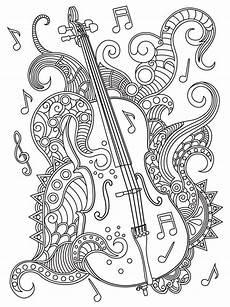 violin coloring page dibujos musicales dibujos dibujos