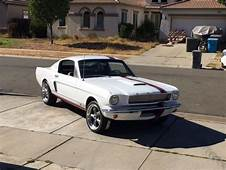 1965 66 FORD MUSTANG FASTBACK A CODE GT 350 SHELBY