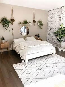 Aesthetic Bedroom Ideas Minimalist by My Boho Minimalist Bedroom Reveal Design Di 2019 Home