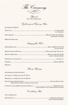 wedding program ideas wedding programs wedding program wording program sles program