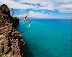 best cliff diving spots in the usa drive the nation