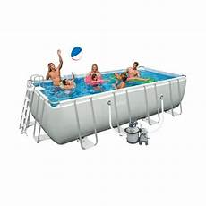 intex ultra frame kit piscine rectangulaire tubulaire 4