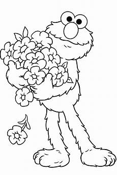 elmo coloring pages to and print for free