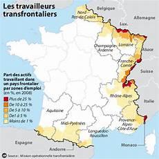 Les Travailleurs Transfrontaliers Fran 231 Ais La Croix