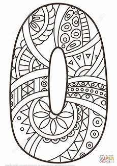 mandala coloring pages by numbers 17867 number 0 zentangle coloring page from zentangle numbers category select from 27556 printable