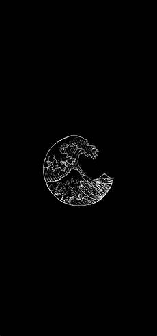 black and white waves iphone wallpaper pin by anique on aesthetic pictures in 2019 black
