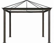 pavillongestell figaro 4x3x2 8 m aluminium braun bei