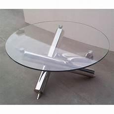 Table Basse Ronde Au Design Moderne
