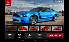 ford by my car customize your 2013 ford mustang with downloadable app