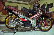 Supra Modif Trail Sederhana by Supra X 125 Modifikasi Trail Thecitycyclist