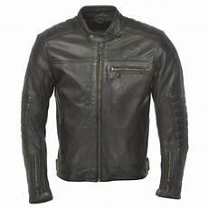 Ride And Sons Getaway Black Blouson Moto Cuir Vintage