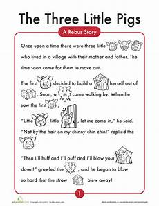 worksheets the 3 little pigs three little pigs kindergarten reading kindergarten worksheets
