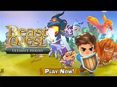 beast quest ultimate heroes trailer android and ios