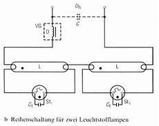 schaltplan leuchtstoffrohre mit starter wiring diagram