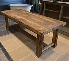 Recraft Upcycled Table En Vieux Chene Farmhouse Table
