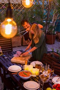 cena in terrazza idee centrotavola per una festa in terrazza luminal park