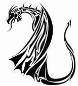 1000  Images About Tribal Dragon Tattoo On Pinterest