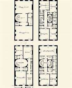 brownstone house plans brownstone floorplans on pinterest brooklyn townhouse