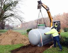 gaz en citerne comment faire installer un r 233 servoir de gaz propane gpl
