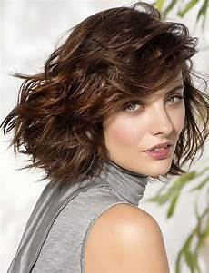 wavy short bob haircuts for round faces 2018 2019 hairstyles