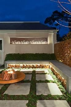 Terrasse Led Beleuchtung - indirekte beleuchtung terrasse led leisten beton sitzbank