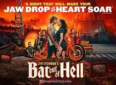Musical Bat Out Of Hell - bat out of hell tickets uk musicals show