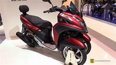 2015 yamaha tricity 125 3 wheel scooter walkaround