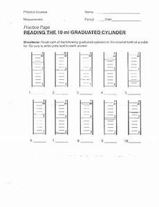 reading graduated cylinders worksheet 1 by lesson universe tpt