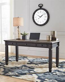 home office furniture austin ashley tyler creek home office desk austin s furniture depot