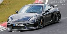 cayman gt4 rs spyshots porsche cayman gt4 rs in the works