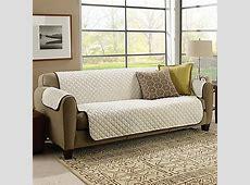 ASTV? CouchCoat? Furniture Cover in Crown/Cream   Bed Bath