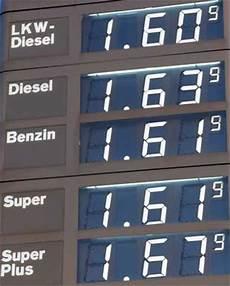 Billig Tanken In Deutschland Verkehrszeichen