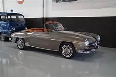 mercedes 190 sl 190sl concourse restored 1957 uit