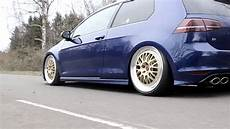 courroie de distribution golf 7 97902 lowered golf 7 r on bbs e88 static