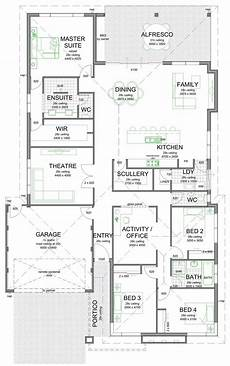 floor plan friday scullery and laundry off kitchen