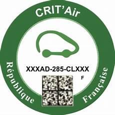 Vignette Crit Air Commander Votre Vignette Officielle