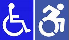 the quot wheelchair quot symbol gets an update logo design