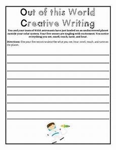 creative writing worksheets for grade 4 22885 out of this world outer space writing and math worksheet packet for grades 4 6 with images