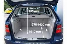 kofferraum b klasse adac auto test mercedes b 180 cdi autotronic