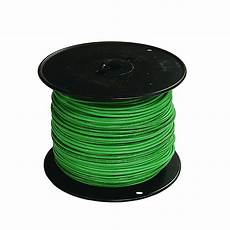 what is green wire southwire 500 ft 6 green stranded cu thhn wire 20497401 the home depot