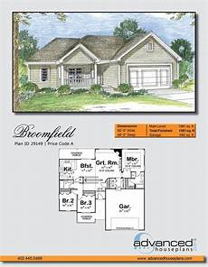 traditional house plans one story 1 story traditional house plan broomfield house plans