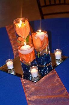 orange navy blue wedding check out other gallery of royal blue and orange wedding center
