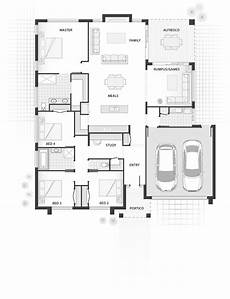 single storey house plans australia the austin standard floor plan single storey home