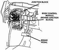 Dodge Caravan Questions  Picture Of 2003 Body Controle