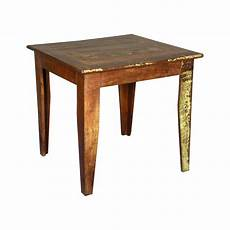 Square Wood Kitchen Table