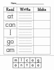 free printable sight word writing worksheets read write make sight word worksheet by candace quester tpt