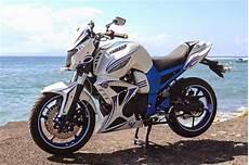 Warna Motor Keren by Dunia Modifikasi Modifikasi Motor Byson Warna Putih Keren