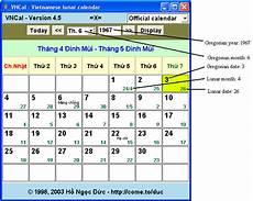 calendar converter ho ngoc duc s lunar calendar