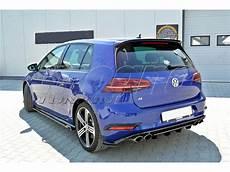vw golf 7 r facelift nexus rear bumper extension